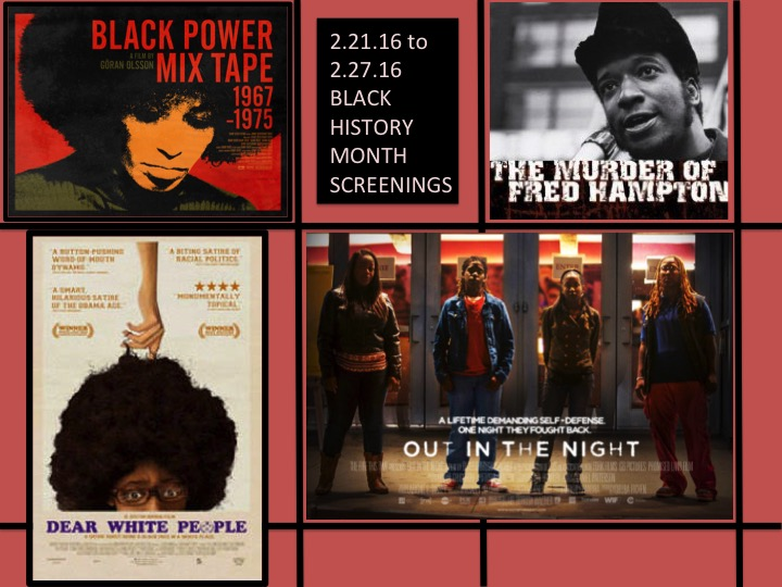 Black History Month Film Screenings