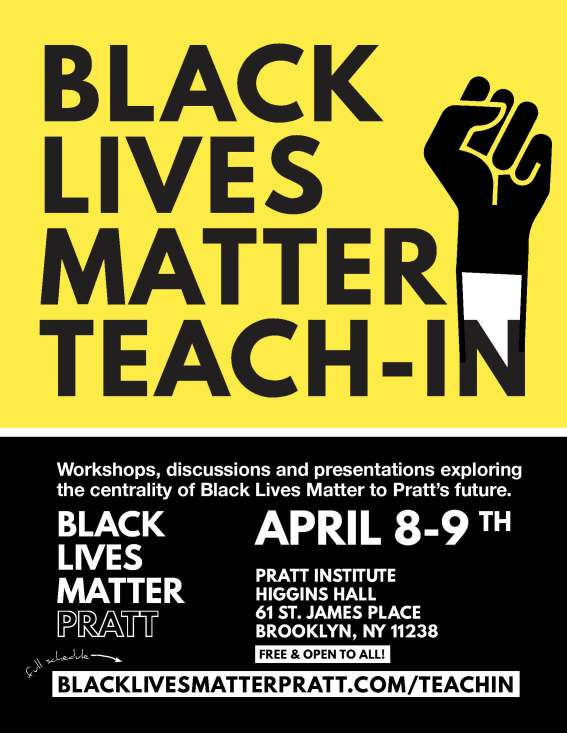 BLM Teach-In Flyer 8.5x11